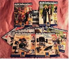 11 X ALDI Informiert 2006 Reklame Prospekte  - Insgesammt  Ca. 200 Seiten - Reklame