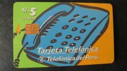 TELECARTE PEROU - PERU PHONECARD - Pérou