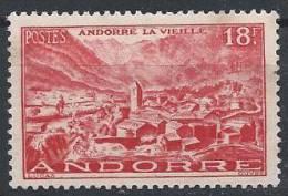 Andorre N°134 (*) NsG - Neufs