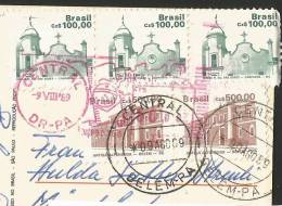 BRASILIA BELEM PA Para North Brasilia Central Belem Pa 1989 - Belém