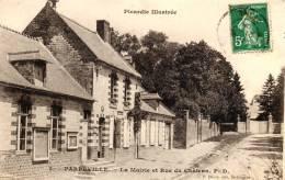 3. Parpeville - La Mairie Et Rue Du Château - 02 - - France