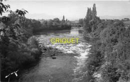 64 Oloron-Ste-Marie, Photo-carte Le Gave Au Moulin De Moumour, Cliché Peu Courant - Oloron Sainte Marie