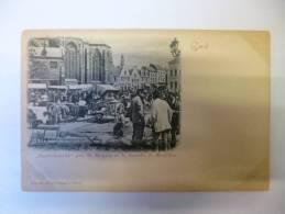 """Gand : """" Prondelmarkt """" Près St. Jacques Et La Tourelle De Baudeloo (G140) - Gent"""