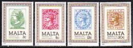 Malta 1985. Philatelie. 100 Jahre Post, Briefmarken (B.0741) - Malta (Orden Von)