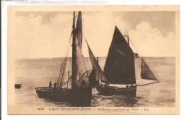 17 -  ILE D´ OLERON -   SAINT-DENIS  - Pêcheurs Rentrant Au Port - Ile D'Oléron