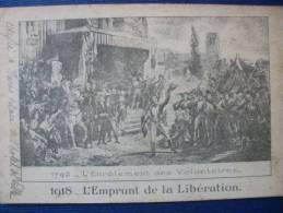 1918 -L'Emprunt De La Libération - Manifestazioni