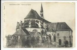 MONTIER EN DER , Chevet De L' Eglise - Montier-en-Der