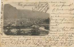 Brasov Brasso Kronstadt Edit  Julius Muller P. Used Hungary 1900 - Roumanie