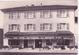 """58 POUILLY SUR LOIRE, CPSM ,hotel Restaurant """"La Bouteille D'Or"""" - Pouilly Sur Loire"""