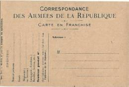 Courrier Militaire Correspondance Des Armée Neuve TTB - France
