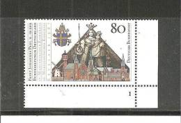 DSP2290/ Mi.Nr.1320, Papbstbesuch 1987. Eckrand Und Formnummer - BRD