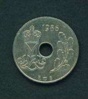 DENMARK - 1986 25o Circ. - Denmark