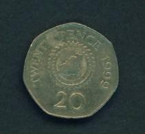 GUERNSEY - 1999 20p Circ. - Guernsey