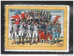 VIGNETTE MILITAIRE - 2e REGIMENT D´INFANTERIE (PROVENCE) - Vignettes Militaires