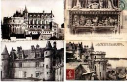 Amboise   41L     Lot De 4 Cartes Postales   . - Amboise