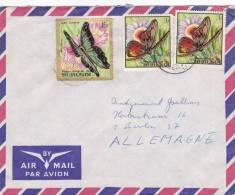 MARCOPHILIE, Lettre, BURUNDI, Cachet 1970 De USUMBURA Pour L´Allemagne Papillon/892 - Burundi