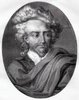 Portrait De Jean Cousin L'Ancien - Lithographie Originale De 1821 - Litografía