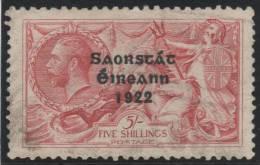 IRLANDA 1922 - Yvert #28 - VFU - Usati