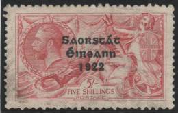 IRLANDA 1922 - Yvert #28 - VFU - 1922 Gobierno Provisional