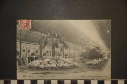 CP, Belgique, Gand L´intérieur De La Gare N°264 édition De Graeve Gand 1908 - Gent