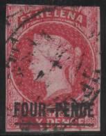 SANTA HELENA 1863 - Yvert #4 - VFU - Isla Sta Helena