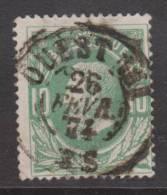 30  DC. - AMBULANT  OUEST III  1874-  2 X Scan Coba+15 - 1869-1883 Léopold II