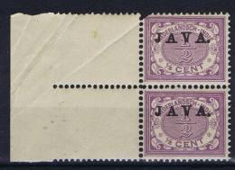 Nederlands East Indies: Nr 63  Sheetmargin - Niederländisch-Indien