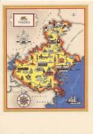 Regioni D'Italia - VENETO  Ill. NICOULINE  VENEZIA - BELLUNO - PADOVA - TREVISO - VERONA - VICENZA - Unclassified