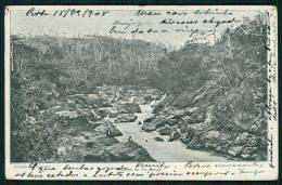 ANGOLA. Rápidos Do Rio Bengo KUANZA NORTE. Old Postcard AFRICA 1900s - Angola