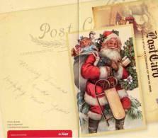 """Entier Postal  D'Australie Sur Env. Avec Timbre """"Noël"""" + Carte De Correspondance Assortie - Noël"""