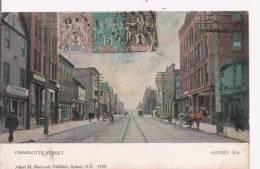 SYDNEY N S  1104   CHARLOTTE STREET 1906 - Nova Scotia