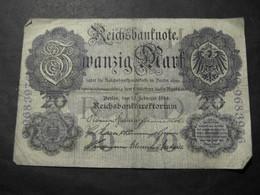 Reichsbanknote 20 Mark - 1910 - 20 Mark