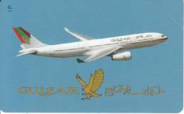 ITALY - Gulf Air(5000L.), Exp.date 30/06/01, Mint - Vliegtuigen