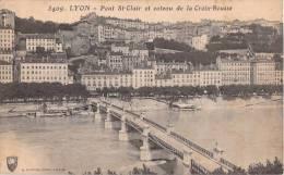 69 LYON PONT SAINT CLAIR ET COTEAU DE LA CROIX ROUSSE - Lyon