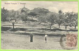 HINDOO TEMPLE   -   Deolali.   1925   . - Inde