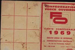 SYNDICAT FORCE OUVRIERE - Gewerkschaften
