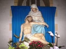 VAEpleu01 - PLEURTUIT - Statue De La Vierge De Pitié ( La PIETA ) Dans L´église - France