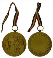 M01290 1904-1946 Schot Tir Schuss Bow Handboog Arc à Flèches (46 G.) - Jetons & Médailles