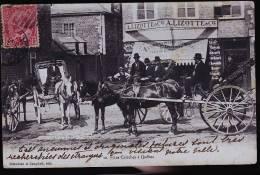 QUEBEC ATTELAGE LES CALECHES1907 - Québec - Beauport