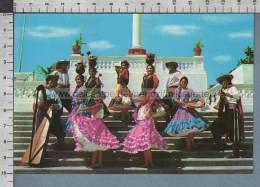S1777 PARAGUAY BALET DE REINA MENCHACA COSTUMES DANCERS - Paraguay