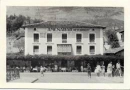 ESPAGNE SAN IGNACIO DE LOYOLA RESTAURANTE AMENABAR CPM - Espagne