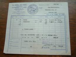 Fa Gebrs. DE VRIES Kaashandel OUDERKERK A. D. IJSSEL - 1949 ! - Pays-Bas
