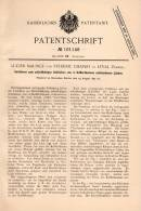 Original Patentschrift - L. Maurice Und F. Chaplet In Leval , 1897 , Fermer Fuites Dans Les Navires, Navire De Guerre ! - Boats