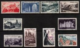 France 1949-1962 Commemorative Lot Used - Verzamelingen