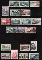 France 1954 - 1957 Tourism Sets (3) Used - Verzamelingen