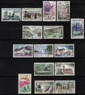 France 1960 - 1961 Tourism Sets (2) Used - Verzamelingen