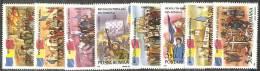 Romania 1990 Nuovo** - Mi.4613-20  Yv.3896/03 - 1948-.... Repubbliche