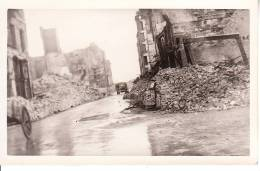 CARTE PHOTO LE HAVRE DESTRUCTION DU BOMBARDEMENT GUERRE 39.45 RUE DU GENERAL FAIDHERBE - Le Havre