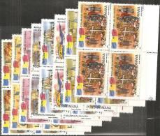Romania 1990 Nuovo** - Mi.4613/20  Yv.3896/03  Quartina - 1948-.... Republics