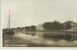 Ansichtkaart Gezicht Op Lisserbroek Van Uit Lisse Stempel Waarschijnlijk 1939 - Lisse